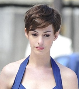 Haute or Not?: Anne Hathaway's New Pixie Haircut | Beauty ...