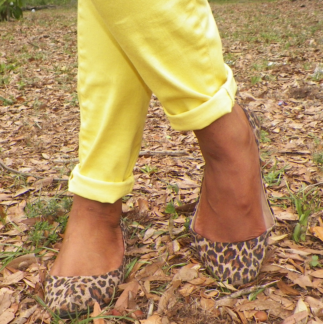 Animal Print Flats In Comfortable Shoes