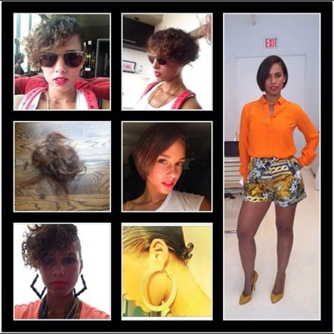 Haute or Not?: Alicia Keys Debuts New Bob Haircut On Instagram