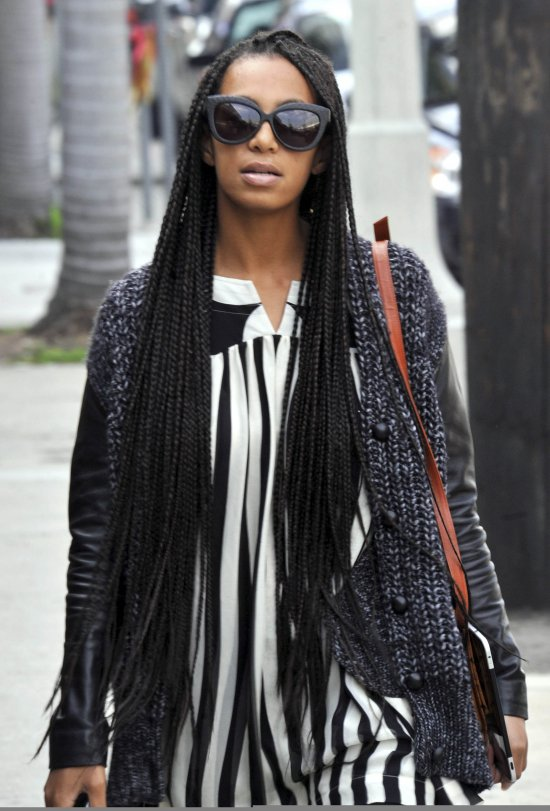 Glamspiration: Solange Knowles' Box Braids/ My Latest ...