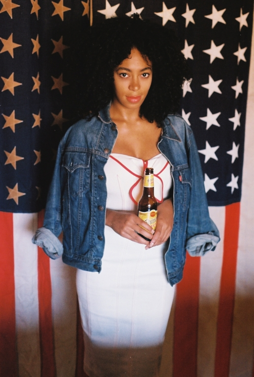 Picture Glam: Solange Knowles Rocks Big Hair & A Big ...