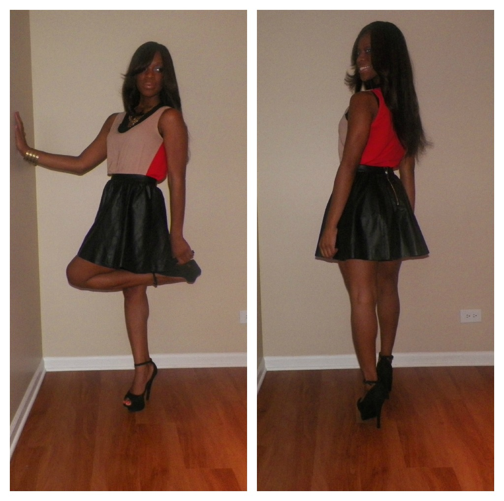 glamspiration how to rock a black leather mini skirt like