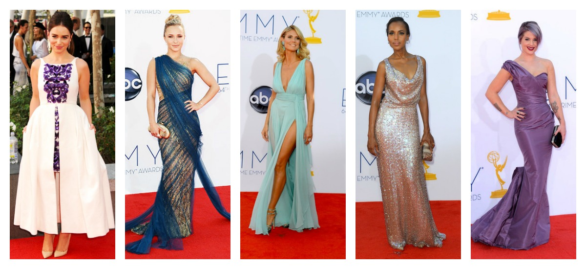 best red carpet looks from the 2012 primetime emmy awards beauty the beat. Black Bedroom Furniture Sets. Home Design Ideas